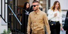 David Beckham Pulls Off the Perfect Summer Boots