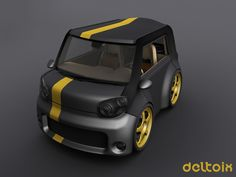 Deltoix Front Stealth Edition by deltoiddesign on DeviantArt Concept Cars, Deviantart, Vehicles, Rolling Stock, Vehicle, Tools