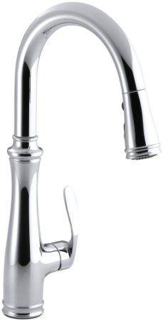 Kohler Barossa Faucet : Kohler K-560-VS Bellera Pull-Down Kitchen Faucet, Vibrant Stainless ...
