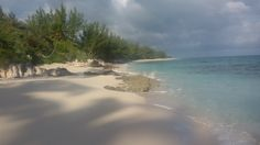 The whole beach to myself... on Eleuthera Island!