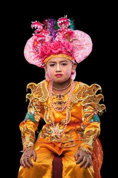 Gawnsaeng, Poi Sang Long ritual in Thailand,  Kenneth Bamberg photography