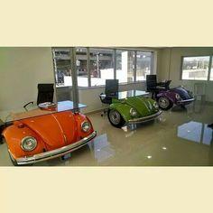 Vw Bus Office Cubicle Or Reception Desk Automotive