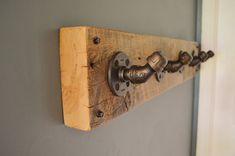 Ganchos de pared de tubería Industrial rústica por CaseConcepts2000
