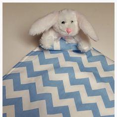 Baby Security Blanket LoveyLovie Softie stuffie by PegsSewCrafty