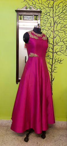 MOHHO by A&N evening gowns, made of Silk Tafetta & Embellishment of Hand Work . . .