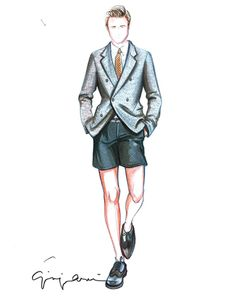 Men Fashion Designer Sketches Mens Fashion Week Fashion