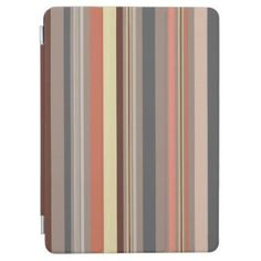 Stripes - Retro Tones iPad Pro Cover - retro gifts style cyo diy special idea