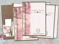 Kirchenheft mit Freudentränen Hochzeit inkl. Druck von Papierwiese auf DaWanda.com