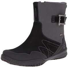 on sale 44d9c 8803c Shoes Apparel Merrell 9207 Womens Albany Sky Black Mid-Calf Boots Shoes  8.5
