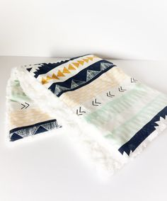 Your place to buy and sell all things handmade Lovey Blanket, Minky Baby Blanket, Baby Blankets, Minky Fabric, Nursery Neutral, Nursery Bedding, Burp Cloths, Aztec, Baby Gifts