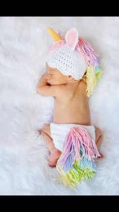 Unicorn newborn baby photoshoot