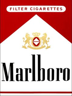 Marlboro - I don't smoke and I never did, but I love big tobacco. These guys provided decades of the best auto racing ever.
