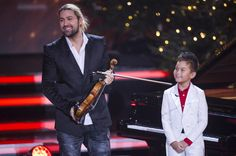 David Garrett Photos Photos - David Garrett (L) and Ricky Kam attend the 'Heiligabend mit Carmen Nebel' TV show at Bavaria Filmstudios on November 26, 2015 in Munich, Germany. - 'Heiligabend mit Carmen Nebel' TV Show