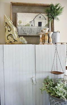 Farmhouse style vign