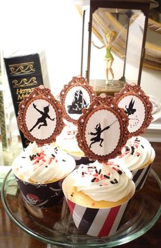 Printable Peter Pan Cupcake Toppers and Wrappers