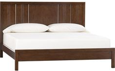 Crate & Barrel Teagan King Bed on shopstyle.com