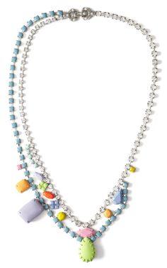 Soft Power Asymmetric Necklace by Tom Binns for Preorder on Moda Operandi