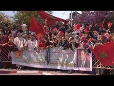 Despliegue patriótico marroquí en el Sáhara Occidental para celebrar el 40 aniversario de la… - YouTube