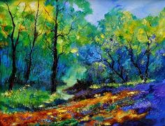 """magic forest"" - Original Fine Art for Sale - © pol ledent"