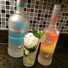 It's the #ThirstyThursday right before #ValentinesDay...perfect night for the sweet love affair between Cruzan Rum's #Coconut and #Mango. Share a #CocoMango #Mojito with your sweetie!  #Mojitos #MojitoFairy
