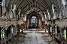 Agnes Catholic Church, built in 1921 and abandoned in (Michael S. Williamson/The Washington Post) Detroit Ruins, Abandoned Detroit, Abandoned Buildings, Abandoned Places, Abandoned Castles, City Buildings, The Washington Post, Detroit Before And After, St Agnes