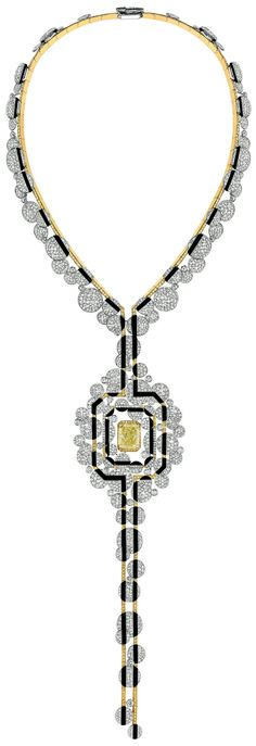 Rosamaria G Frangini | High Yellow Jewellery | Morning in Vendôme Necklace from CafeSociety, Chanel - Fine Jewelry Collection