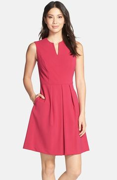 Marc New York by Andrew Marc Sleeveless Fit & Flare Dress available at #Nordstrom