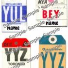 Students labels that look like old luggage tags for a travel theme classroom. Classroom Labels, New Classroom, Classroom Themes, Classroom Organization, Travel Bulletin Boards, Road Trip Theme, Toronto, Around The World Theme, Old Luggage
