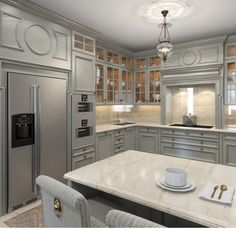 Classic Style Kitchen Furniture Timeless Furniture For Your Home Cozy Kitchen, Home Decor Kitchen, Interior Design Kitchen, Kitchen Furniture, Kitchen Cabinet Styles, Modern Kitchen Cabinets, Luxury Kitchens, Home Kitchens, Cuisines Design