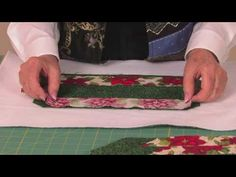 Let's Quilt #14: Holiday Placemats (Part 1) - YouTube