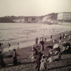 Biarritz 1895 . Photo de Georges Ancelli