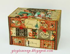 Upcycling of cereal boxes to make a mini drawer unit - Upcycled Crafts Craft Storage Drawers, Cardboard Drawers, Cardboard Storage, Cardboard Houses, Cube Storage, Diy Paper, Paper Art, Paper Crafts, Cardboard Crafts
