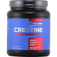 Prolab Creatine 1000 g | Regular Price: $37.99, Sale Price: $24.99 | OvernightSupplements.com | #onSale #supplements #specials #Prolab #Creatine  | Prolab exclusively uses a brand of creatine monohydrate called CreaPURETM which means our ingredients are subjected to the highest quality screening procedures before processing begins Prolab s Creatine starts pure and ends pure Prolab s Creatine Monohydrate can help maximize energy output during intense training to help you reach