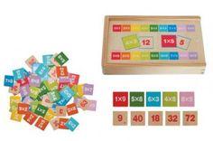 Woody Krabička s malou násobilkou Delena, Educational Toys, Games, Montessori, Kids Learning Toys, Kids Learning, Learn To Read, Math Test, Wooden Toys For Kids