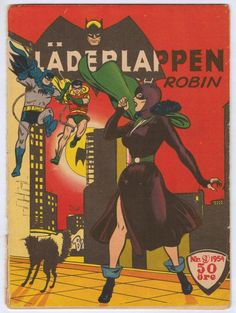 BATMAN #9 *SWEDISH VARIANT* DC COMICS 1954_Batman #84 Catwoman RARE! | Silver Age (1956-69)  I Love It!  Meow >^..^<