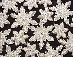 Snowflake cookie idea