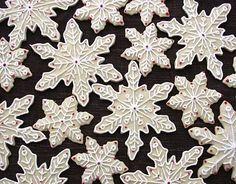 Snowflake cookie idea