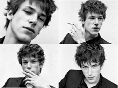 Gaspard Ulliel during his younger days