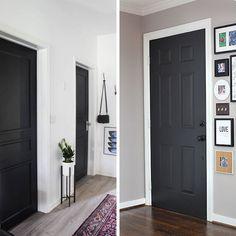 D coration de porte 20 id es originales pour les - Quel mur peindre dans une chambre ...