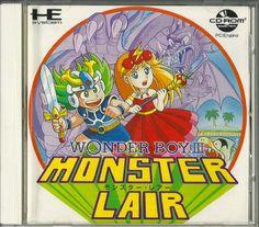 More PC Engine games: Spin Pair, Star Parodier, Monster Lair etc Retro Video Games, Video Game Art, Retro Games, Pc Engine, Game Engine, Wonder Boys, Old Games, Box Art, Nostalgia
