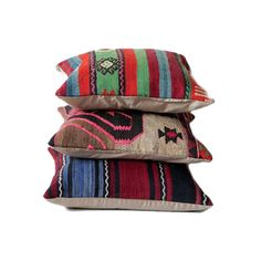 These one-of-a-kind pillows are fashioned from vintage kilims, which are flat tapestry-woven carpets that traditionally function as prayer mats. Although used mostly decorative purposes in Western hous...  Find the Vintage Kilim Prayer Pillow, as seen in the Dome in the Desert Collection at http://dotandbo.com/collections/dome-in-the-desert?utm_source=pinterest&utm_medium=organic&db_sku=92372