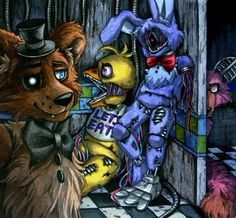 Out of service / Withereds FNaF 2 by Mizuki-T-A.deviantart.com on @DeviantArt