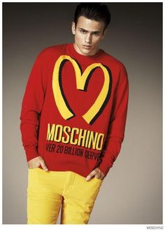 Moschino Fall-Winter 2014 Sergio Carvajal