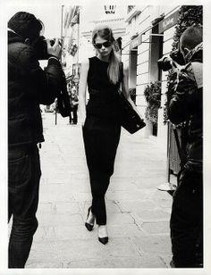 Caroline Brasch Nielsen channels VB for VP! (Vogue Paris Dec/Jan 14)  Photographer: Terry Richardson