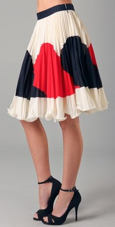 Milly, Justene Skirt. $275 from Shopbop