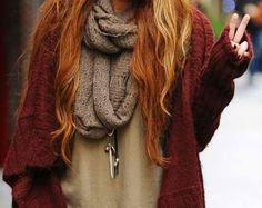 oxblood knits.