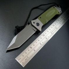 High quality DA35 Folding Tactical Survival Knife Outdoor Camping Tool Knives 9cr Steel Blade + G10 handle knife EDC Tool