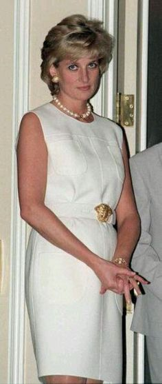 June 6, 1996: Diana, Princess of Wales visiting the Hospice In The North Western Memorial Hospital In Chicago, USA.