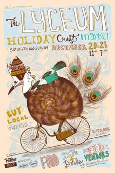 'Tis the season.... love holiday craft sales and AWESOME craft sale posters.