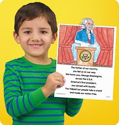 Presidents' Day Puppet & Poem at Lakeshore Learning